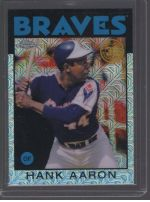 2021 Topps Legends Material Printing Plate Magenta Hank Aaron<br />Card not available