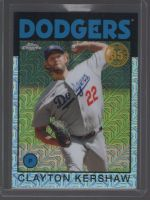 2021 Topps Legends Material Printing Plate Magenta Clayton Kershaw<br />Card not available