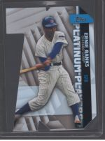 2021 Topps Legends Material Printing Plate Magenta Ernie Banks<br />Card not available