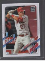 2021 Topps Legends Material Printing Plate Magenta Mike Trout<br />Card Owner: Tony Leslie