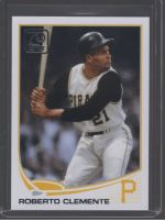 2021 Topps Legends Material Printing Plate Magenta Roberto Clemente<br />Card not available