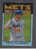 2021 Topps Legends Material Printing Plate Magenta Pete Alonso<br />Card Owner: Triston Bain