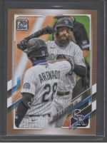 2021 Topps Legends Material Printing Plate Magenta Charlie Blackmon<br />Card not available