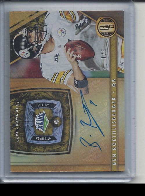 2019 Panini Gold Standard   Ben Roethlisberger<br />Card not available