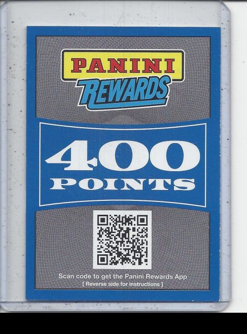 2019 Panini Certified   Panini Points<br />Card not available