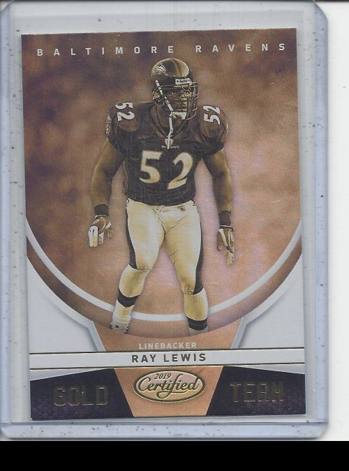2019 Panini Certified   Ray Lewis<br />Card not available