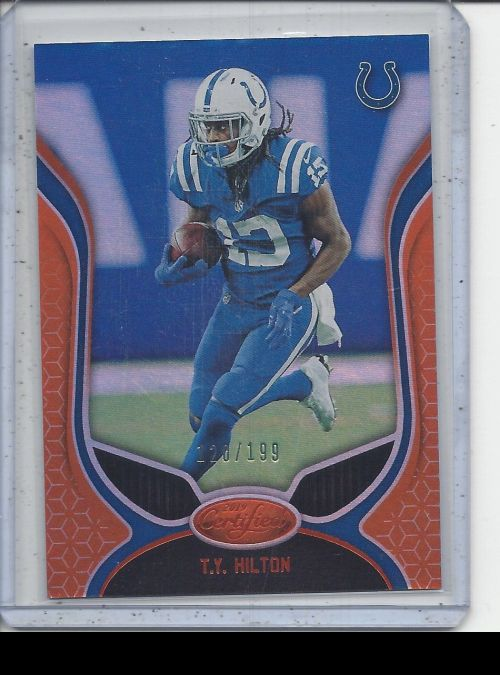 2019 Panini Certified   TY Hilton<br />Card not available