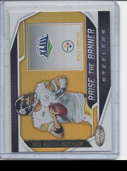 2019 Panini Certified   Ben Roethlisberger<br />Card not available