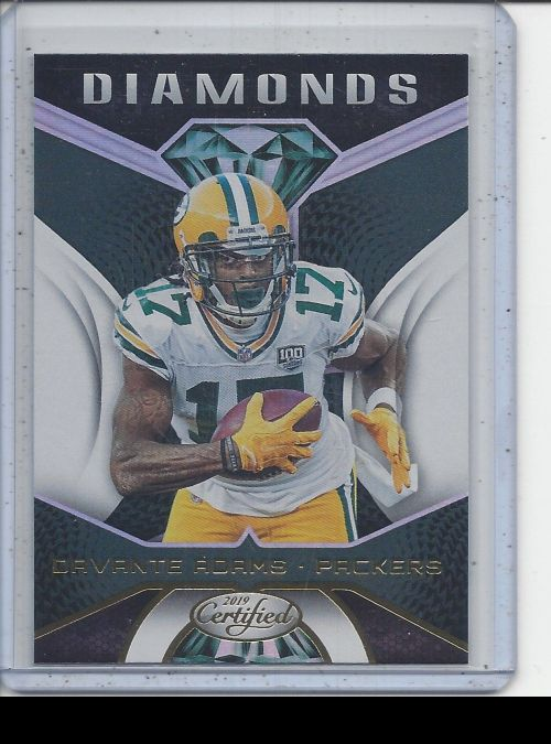 2019 Panini Certified   Davante Adams<br />Card not available
