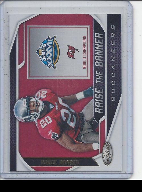 2019 Panini Certified   Ronde Barber<br />Card Owner: Trade Box
