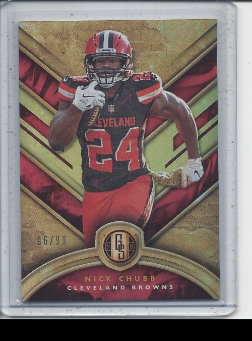 2019 Panini Gold Standard   Nick Chubb<br />Card not available