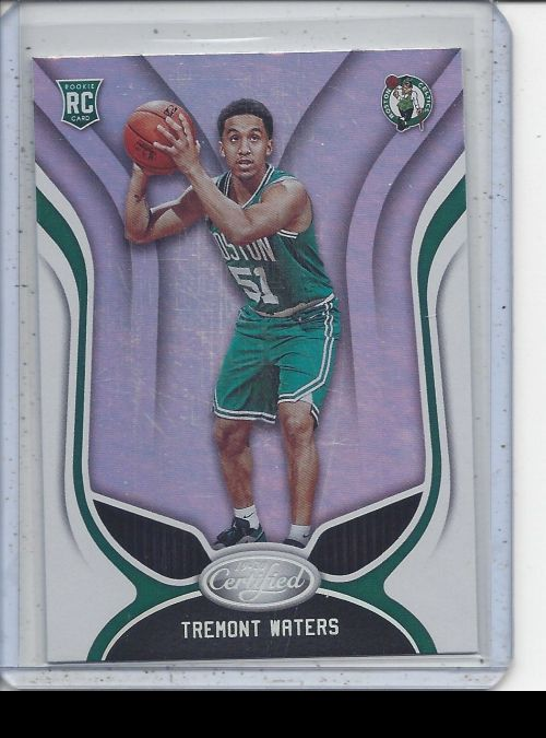 2019-20 Panini Certified   Tremont Waters<br />Card not available
