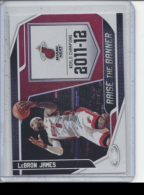 2019-20 Panini Certified   LeBron James<br />Card Owner: Stephen Theriot