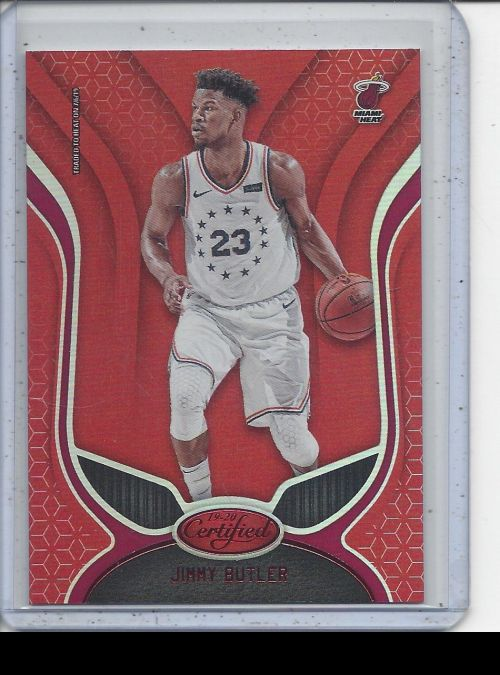 2019-20 Panini Certified   Jimmy Butler<br />Card Owner: Stephen Theriot