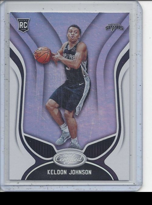 2019-20 Panini Certified   Keldon Johnson<br />Card Owner: Seth Anderson