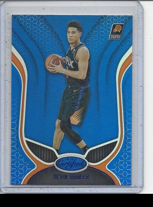 2019-20 Panini Certified   Devin Booker<br />Card Owner: Paul Thompson