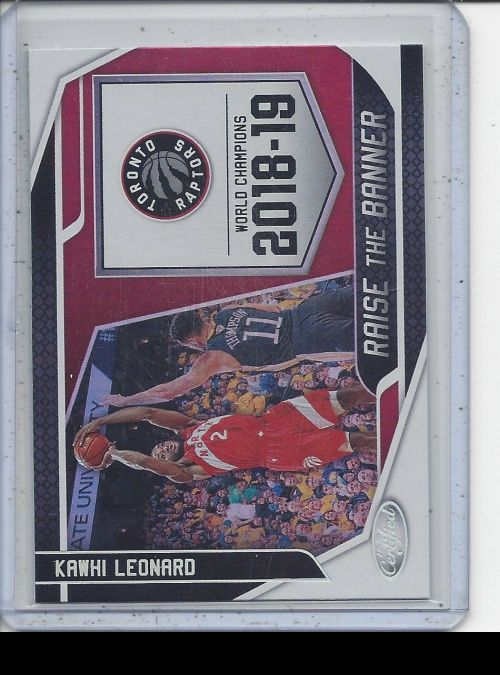 2019-20 Panini Certified   Kawhi Leonard<br />Card Owner: Remington Burton