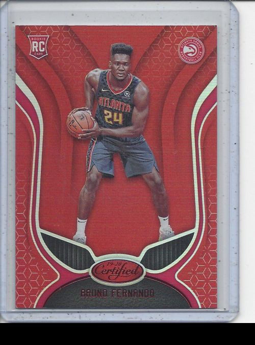 2019-20 Panini Certified   Bruno Fernando<br />Card Owner: Stephen Theriot