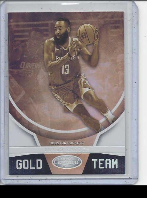 2019-20 Panini Certified   James Harden<br />Card Owner: Seth Anderson