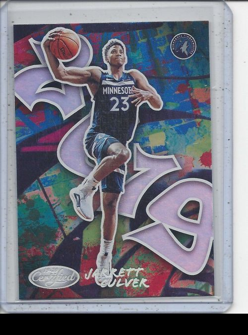 2019-20 Panini Certified   Jarrett Culver<br />Card Owner: Remington Burton