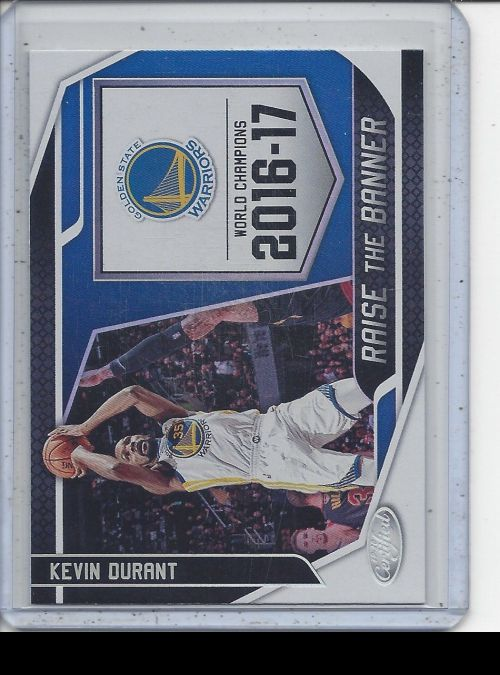 2019-20 Panini Certified   Kevin Durant<br />Card Owner: Paul Thompson