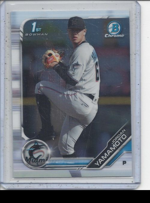 2019 Bowman Chrome   Jordan Yamamoto<br />Card not available