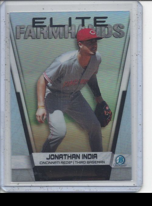 2019 Bowman Chrome   Jonathan India<br />Card not available