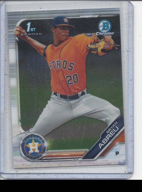 2019 Bowman Chrome   Bryan Abreu<br />Card not available