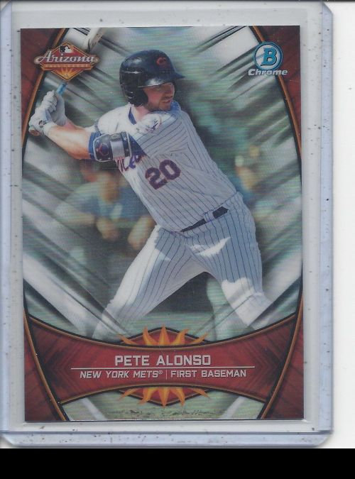 2019 Bowman Chrome   Peter Alonso<br />Card Owner: Trade Box