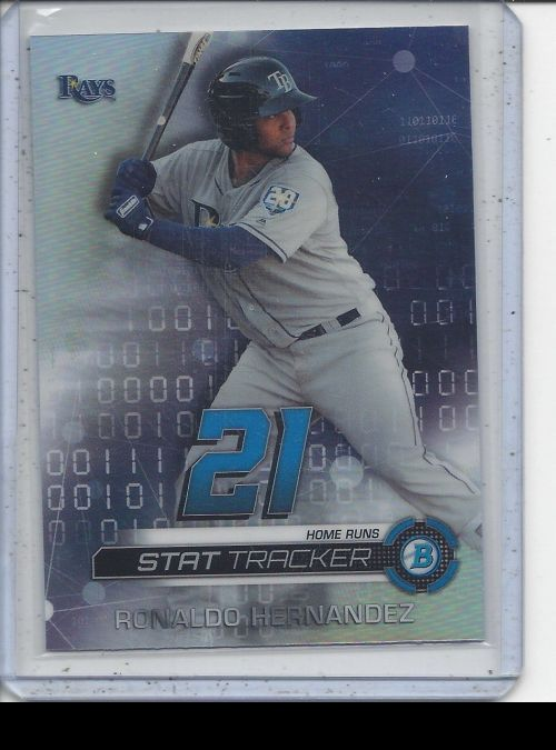 2019 Bowman Chrome   Ronaldo Hernandez<br />Card Owner: Landon Flueckiger