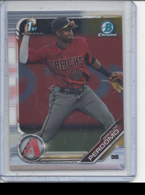 2019 Bowman Chrome   Geraldo Perdomo<br />Card not available