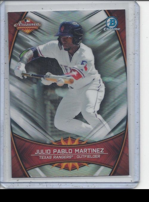 2019 Bowman Chrome   Julio Pablo Martinez<br />Card Owner: Ronnie Dzik
