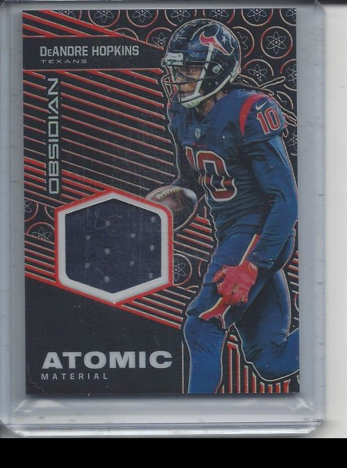 2019 Panini Obsidian   DeAndre Hopkins<br />Card Owner: Ryan Davis