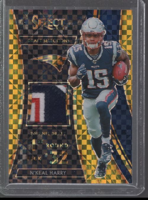 2019 Panini Select   NKeal Harry