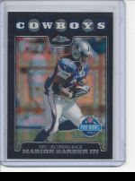 2008 Topps Chrome Marion Barber III