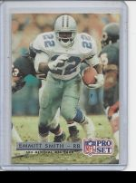 1992 Pro Set Emmitt Smith