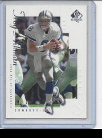 2000 SP Authentic Troy Aikman