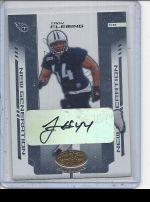 2004 Leaf Certified Materials Troy Fleming