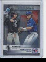 2018 Bowman Draft Jordan Groshans, Nick Madrigal