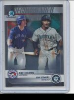 2018 Bowman Draft Griffin Conine, Josh Stowers