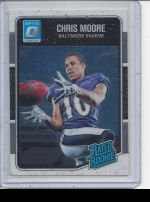 2016 Donruss Optic Chris Moore