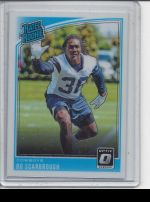 2018 Donruss Optic Bo Scarbrough