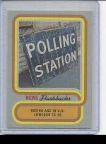 2019 Topps Heritage Polling Station