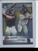 2018 Bowman Draft Xavier Edwards