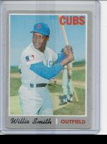 1970 Topps Willie Smith