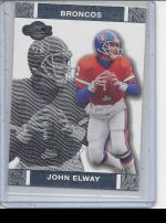 2007 Topps Co-Signers John Elway