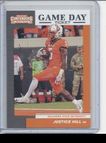 2019 Panini Contenders Draft Picks Justice Hill