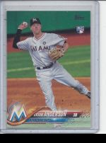 2018 Topps Brian Anderson