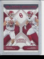 2018 Panini Contenders Draft Picks Mark Andrews, Baker Mayfield