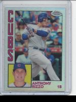 2019 Topps Chrome Anthony Rizzo